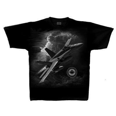 F-18 Hornet T-Shirt t shirt CF-18 Hornet