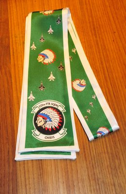335th TFS pilot scarve F-15 Eagle squadron