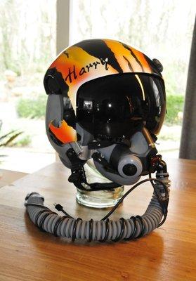 Gentex HGU-55/G Tigermeet painting & MBU-20/P Medium with WEA