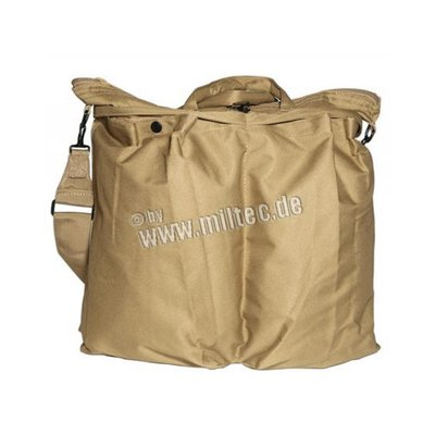 US MA1 pilot helmet bag coyote color