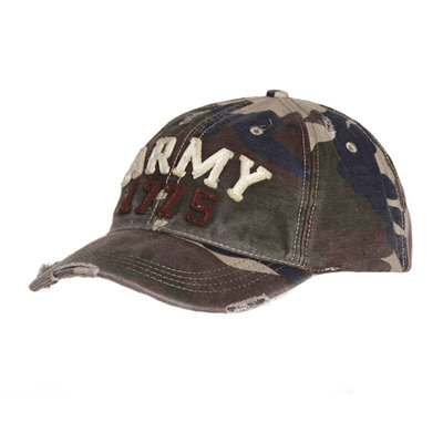 Base Ball Cap ARMY 1775 stone washed