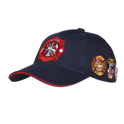 Base Ball Cap NYFD with patches