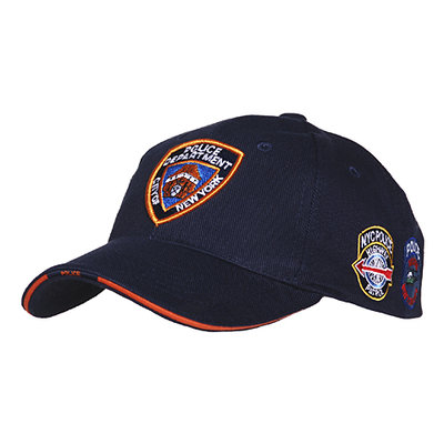 Base Ball Cap NYPD with patches