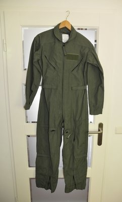 Pilot suit CWU-27/P size 36S sage green original