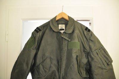 Nomex CWU-36/P flight jacket summer used + USAF nametag size large