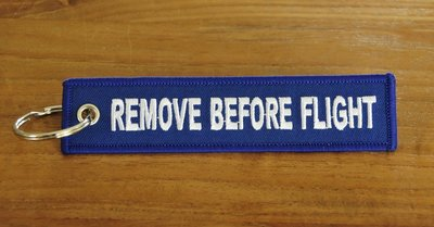 Remove before flight keychain keyring