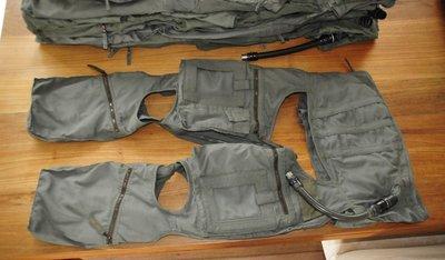 Anti-G suit Anti-G Garment size Medium Luftwaffe