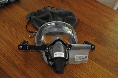 Crew Mask pressure demand 40,000 FT Avox systems Eros Zodiac Aerotechnics F5341