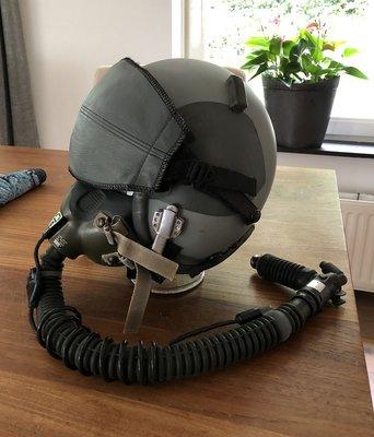 HGU-55/P flight helmet & MBU-12 & CRU-94 & fighter pilot set