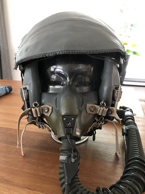 HGU-55/P flight helmet & MBU-12 & CRU-94