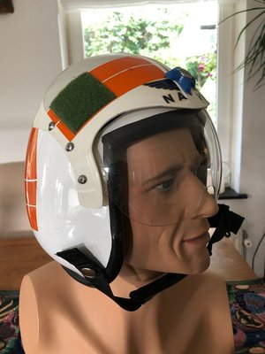 HGU-47 MLD flight helmet P-3 Orion pilot