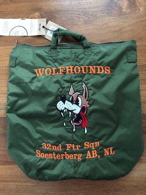 Helmet bag 32nd TFS Wolfhounds Soesterberg AB, NL