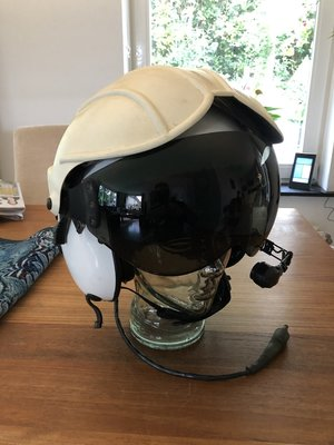 Alpha 200 helicopter flight helmet size Large