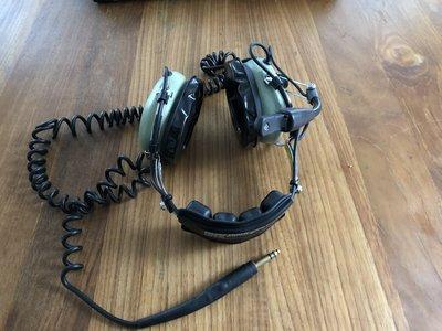 David Clark headset complete