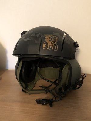 Gentex SPH-4 helicopter helmet special painting 300 sq KLu
