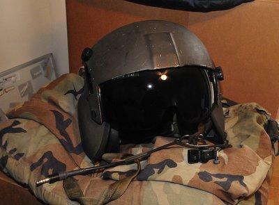 Gentex HGU-56/P helicopter flight helmet size Large