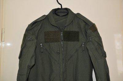 RAF pilot flight suit