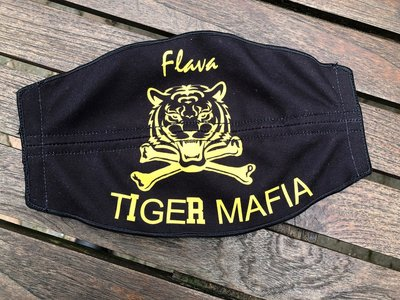 Flight helmet visor cover Tiger Mafia
