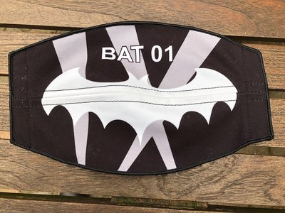 Flight helmet visor cover BAT 01 USAF squadron