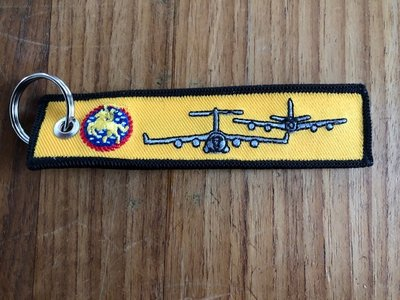 452d Air Mobility Wing keychain keyring