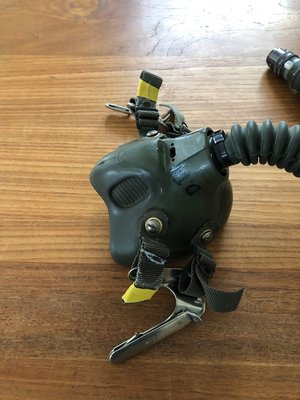 Gentex MBU-12/P oxygen mask Green size Ex. Long