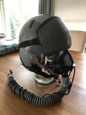 Gentex HGU-55/P + Gentex MBU-20/P oxygen mask