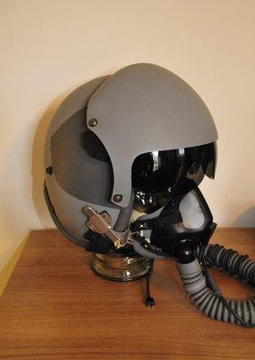 Gentex HGU-55/G flight helmet + Gentex MBU-20/P oxygen mask