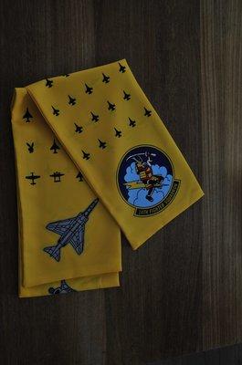 14th Fighter Squadron pilot scarf F-16 squadron