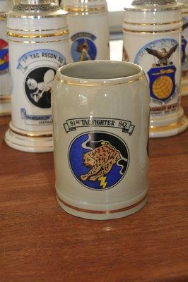 RAF Bentwaters Coffee Mug 81st TFS - 52nd TFW F-4D Phantom
