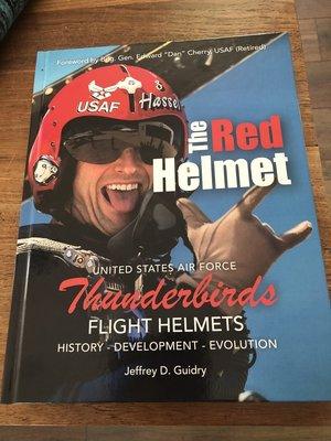 The Red Helmet - USAF Thunderbirds Flight Helmets - History - Development - Evolution
