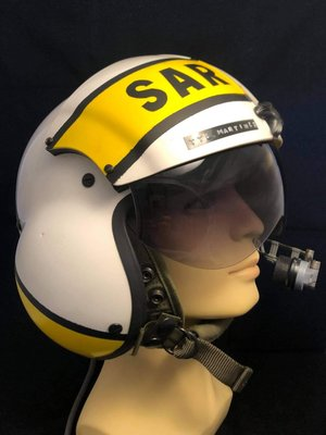 SPH-4 helicopter flight helmet 802 squadron Spanish Air Force