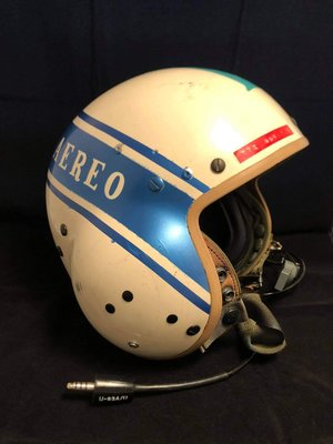 HGU-39/P helicopter flight helmet 801 squadron Spanish Air Force