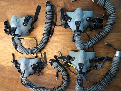 Gentex MBU-12/P oxygen mask Gray Long