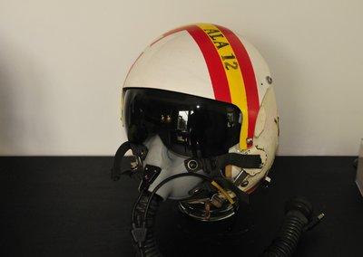 HGU-26/P flight helmet 123 Sq Spanish AF RF-4C Phantom  original
