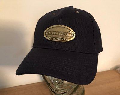 F-104 Starfighter Luxury baseball cap with metal emblem F-104 Starfighter brass cap