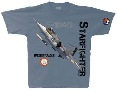 F-104G Starfighter t-shirt Dutch Starfighter Foundation