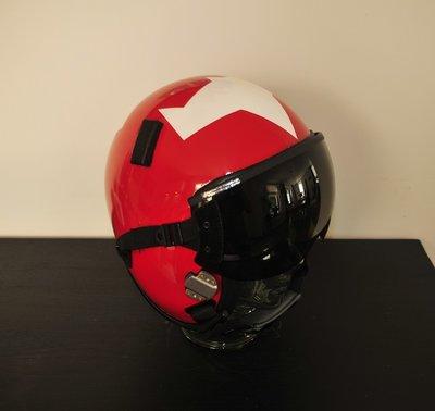 HGU-55/P flight helmet + MBU-12 oxygen mask Aerobatic team