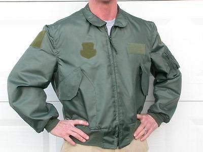 Nomex CWU-36/P flight jacket summer used + USAF nametag size X Lare