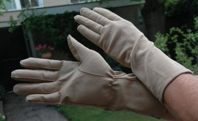 Nomex Fighter Pilot Gloves desert color
