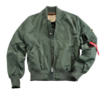 Alpha MA-1 TT flight jacket - summer - green color - men - SPECIAL PRICE