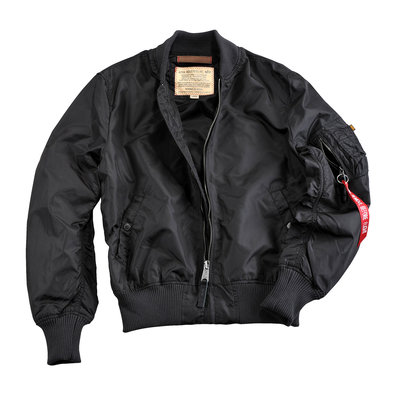Alpha MA-1 TT flight jacket - summer - black color - men - SALE PRICE