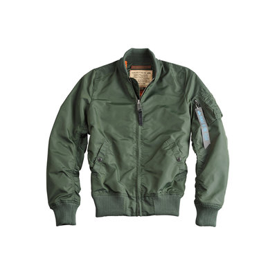 Alpha MA1 TT flight jacket sage green - women - SALE PRICE