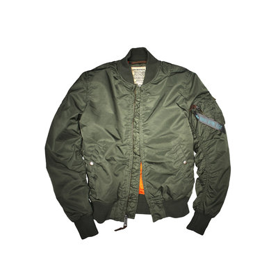 Alpha MA1 VF59 bomber jack (sage green) - women - SALE PRICE