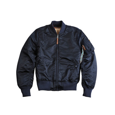 Alpha MA1 VF59 bomber jack (rep blue) - women - SALE PRICE