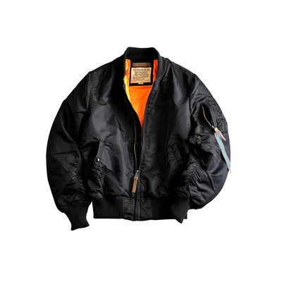 Alpha MA1 VF59 flight jacket (03 black) - women - SALE PRICE