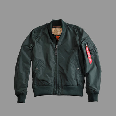 Alpha MA-1 TT flight jacket dark petrol (353) - men - SALE PRICE