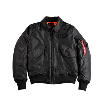 Alpha CWU VF TT bomber jack (black) - men - SALE PRICE