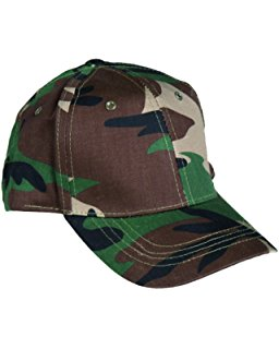 US Baseball Cap Kids Woodland