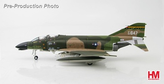 HobbyMaster Diecast F-4D Phantom 63-647 154th TFG 199th TFS Hawaii ANG Air Power Series