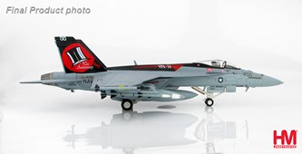 HobbyMaster Diecast McDonnell Douglas F/A-18E 16634 VFA-14 Tophatters USS Nimitz Air Power Series